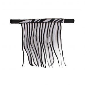 Vliegenfrontriem Zebra QHP