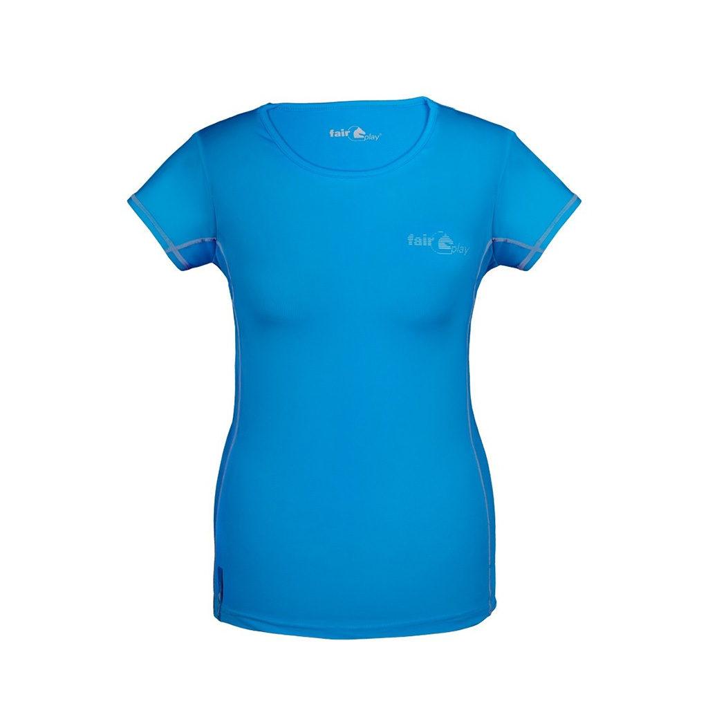 fairplay technisch shirt ella blauw