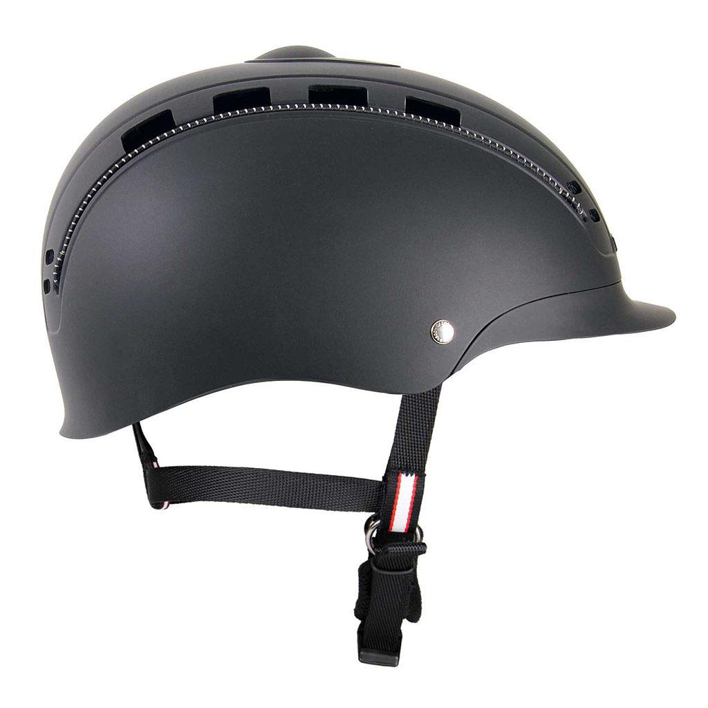 paardrijcap casco cap pasion zwart