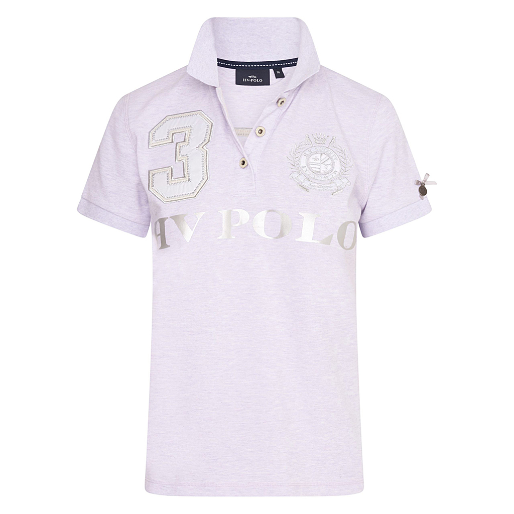 HV polo, polo favouritas R.lilac heather.