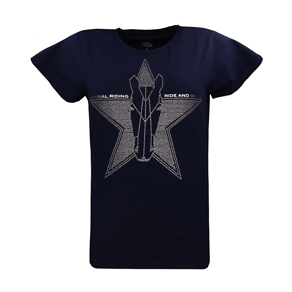 ir shirt belle star navy